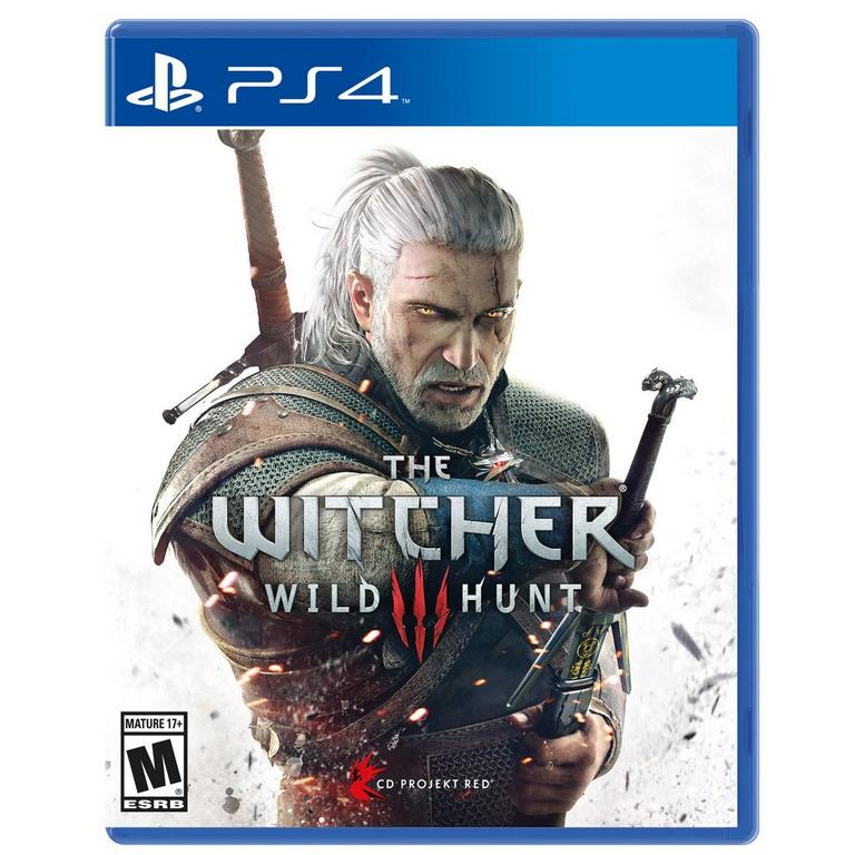 THE WITCHER 3 WILD HUNT – PS4 BRAND GAME