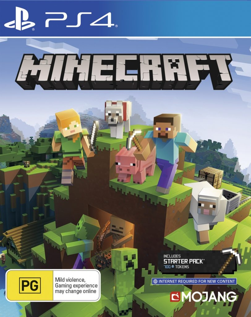 MINECRAFT PS4 EDITION LEGO – PS4 NEW GAME