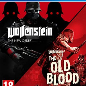 WOLFENSTEIN THE NEW ORDER AND THE OLD BLOOD - PS4 (USED GAME)