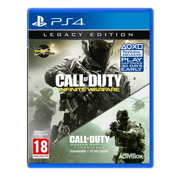 CALL OF DUTY INFINITE WARFARE – PS4 (USED GAME)