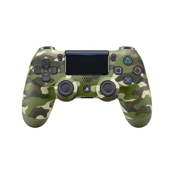 DUALSHOCK 4 PS4 CONTROLLER – GREEN CAMOUFLAGE COLOR (MASTER COPY)