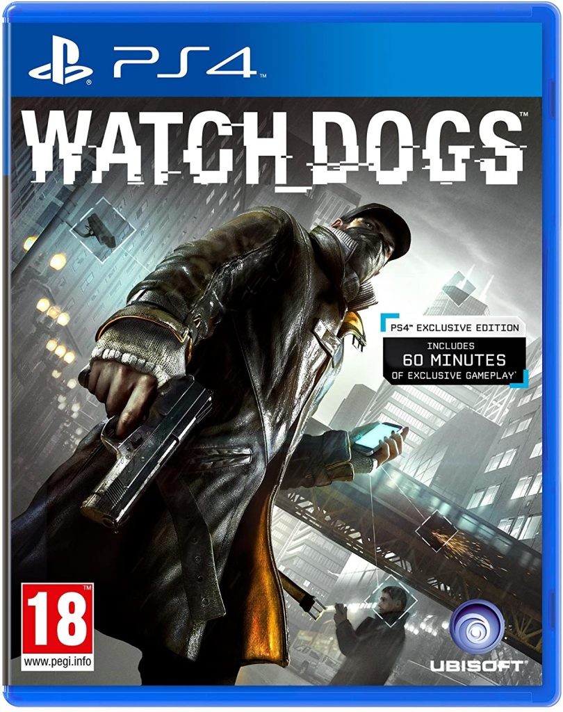 WATCHDOGS 1 – PS4 USED GAME