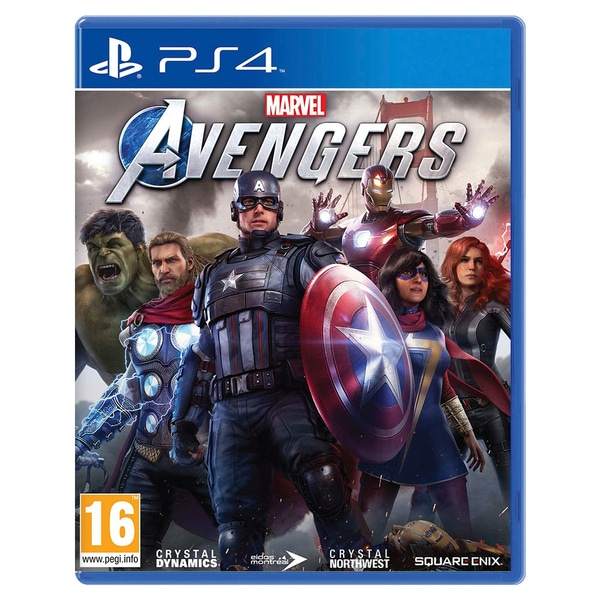 Marvel's Avengers – PLAYSTATION PS4 (USED GAME)