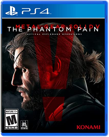 METAL GEAR SOLID V 5 PHANTOM PAIN – PS4 (USED GAME)