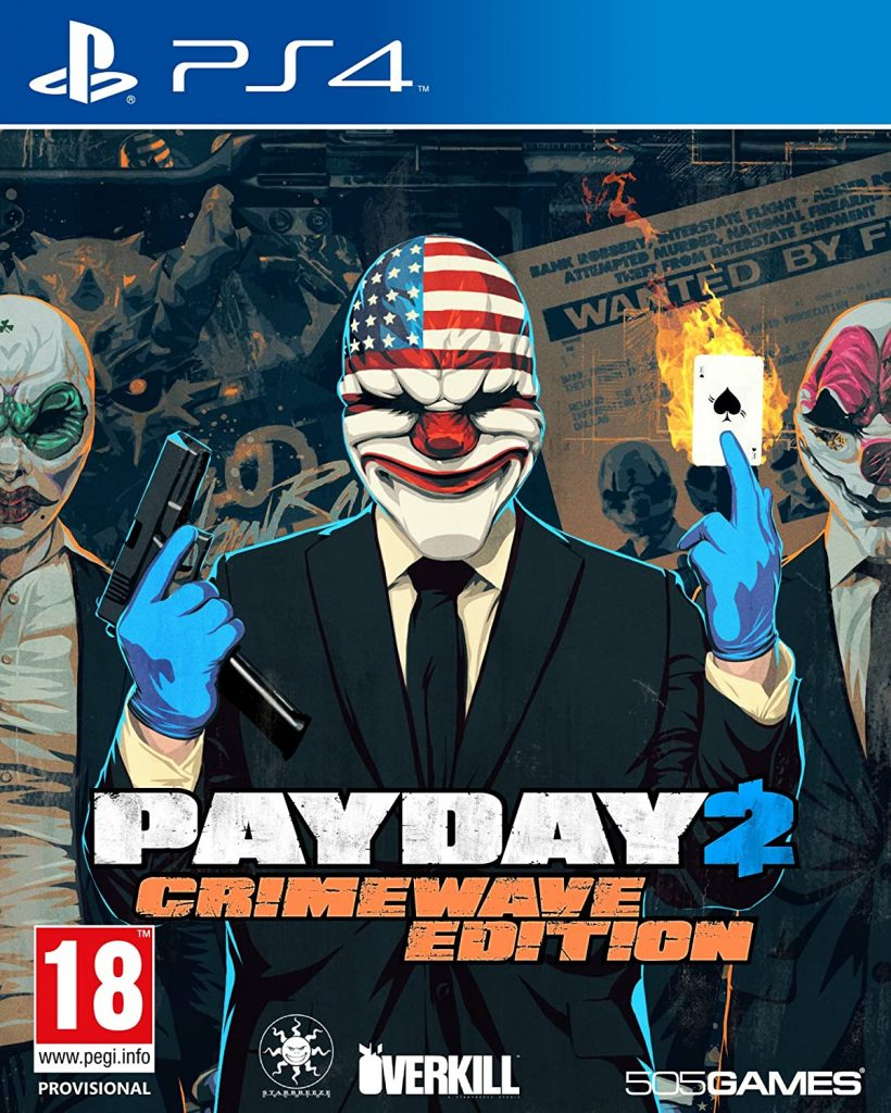 PAY DAY 2 CRIMEWAVE EDITION -PS4 (USED GAME)