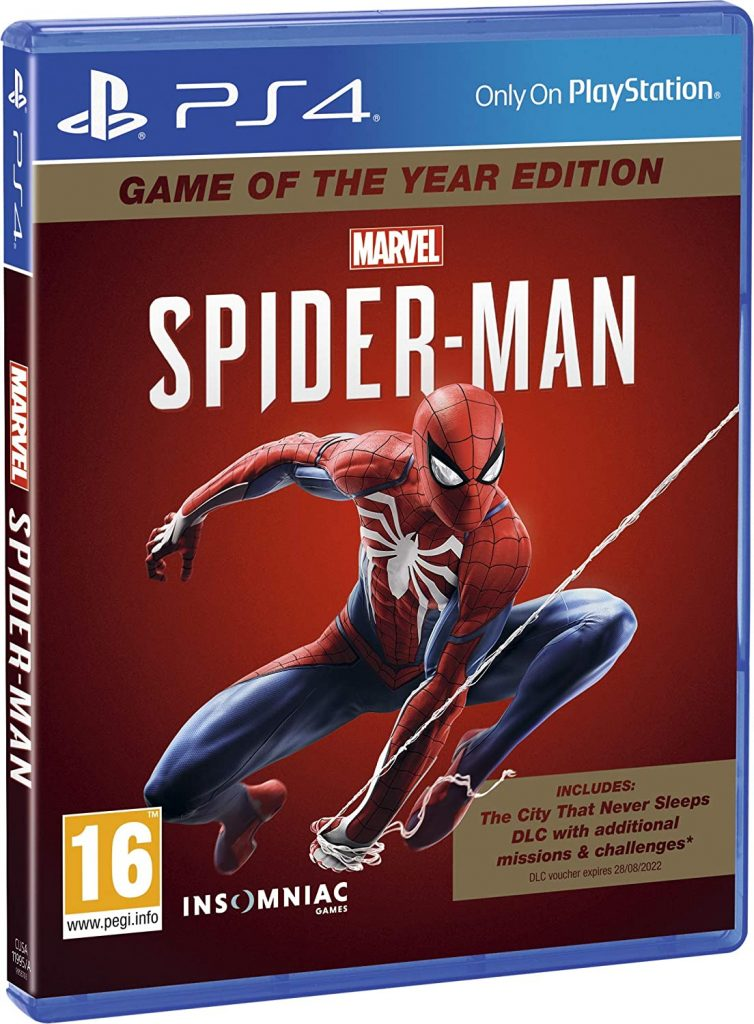 MARVEL SPIDER-MAN GAME OF THE YEAR – PS4 (NEW)