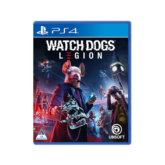 WATCH DOGS LEGION 3 – PS4 BRAND NEW GAME (STANDARD EDITION)