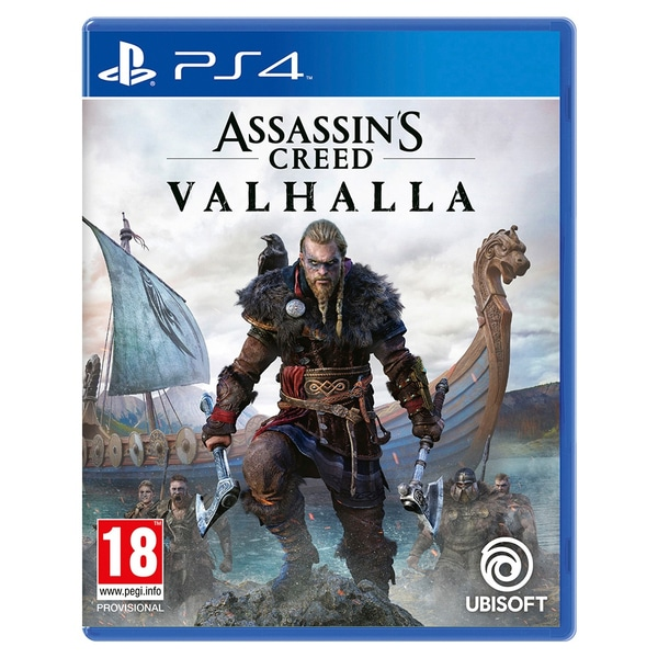 ASSASSIN'S CREED VALHALLA – PS4 (USED) GAME