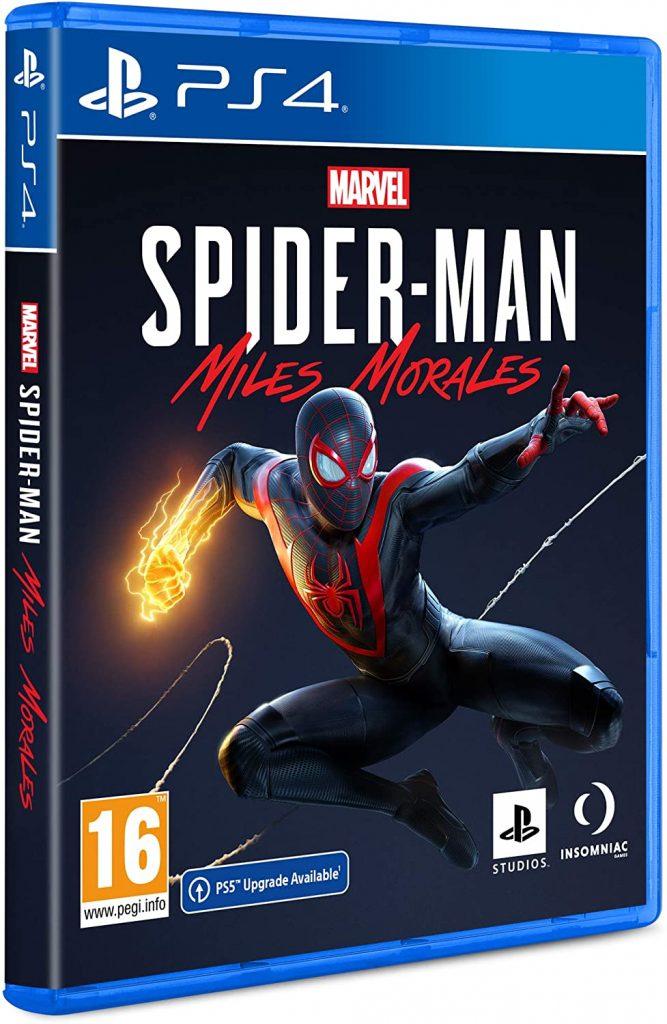 SPIDERMAN MILES MORALES – PS4 (USED) GAME