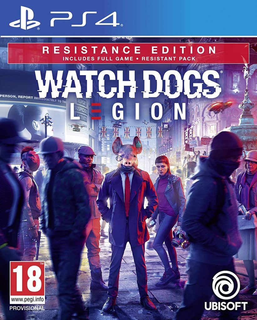 WATCHDOGS LEGION – PS4 (USED) GAME