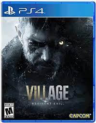 RESIDENT EVIL VILLAGE 8- PS4 NEW GAME