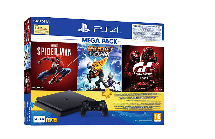 SONY PLAYSTATION® 4 PS4 500 SLIM MODEL BOX PACKED (BRAND NEW)