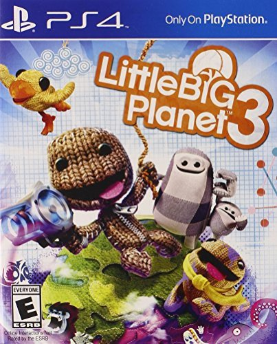 LITTLE BIG PLANET 3- PS4 USED GAME