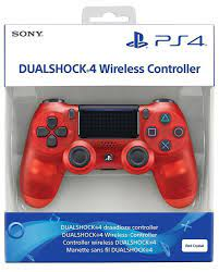 DUALSHOCK 4 PS4 CONTROLLER – CRYSTAL RED COLOR (MASTER COPY)