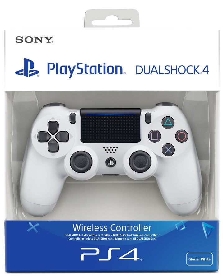 DUALSHOCK 4 PS4 CONTROLLER ORIGINAL – WHITE COLOR (BRAND NEW)