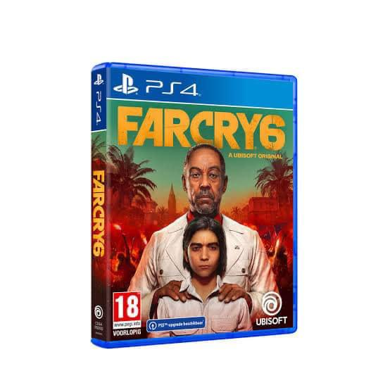 FarCry 6–(New) PS4 Game (Copy)
